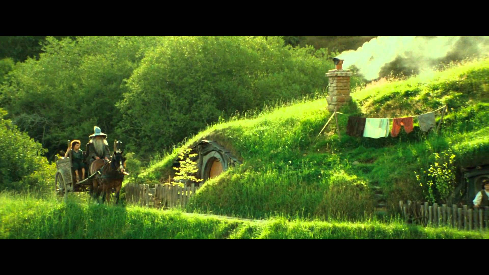 The Shire in Tolkien's literary classic The Lord of the Rings.