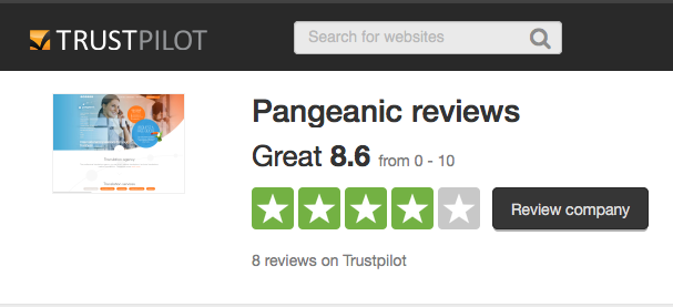 Review of Pangeanic's translation service