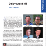 DIY machine translation article in multilingual magazine