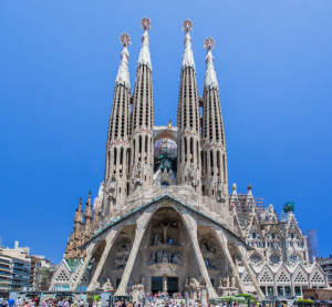http://www.dreamstime.com/stock-photography-la-sagrada-famila-church-barcelona-spain-facade-incredible-familia-holy-family-its-enormous-towers-image44963342