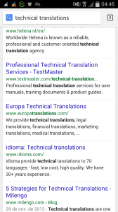 "A technical translation company offering ""tanslations"""
