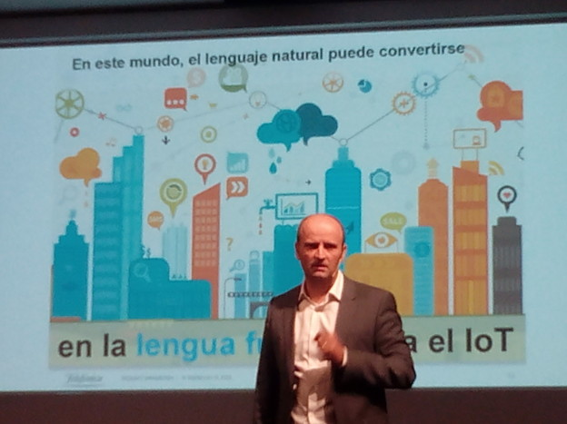 Telefonica is involved in Natural Language Processing Technologies