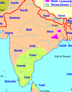Nepali is spoken in Eastern India