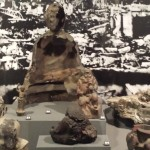 Burnt remains from Hiroshima A-Bomb