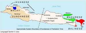 Sundanese language in Java (Indonesia)