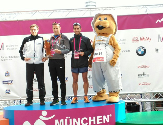 Pangeanic Team 3rd in Munich's 10k half marathon