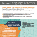 Translators without Borders Factsheet front page