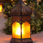colorful arabic lamp